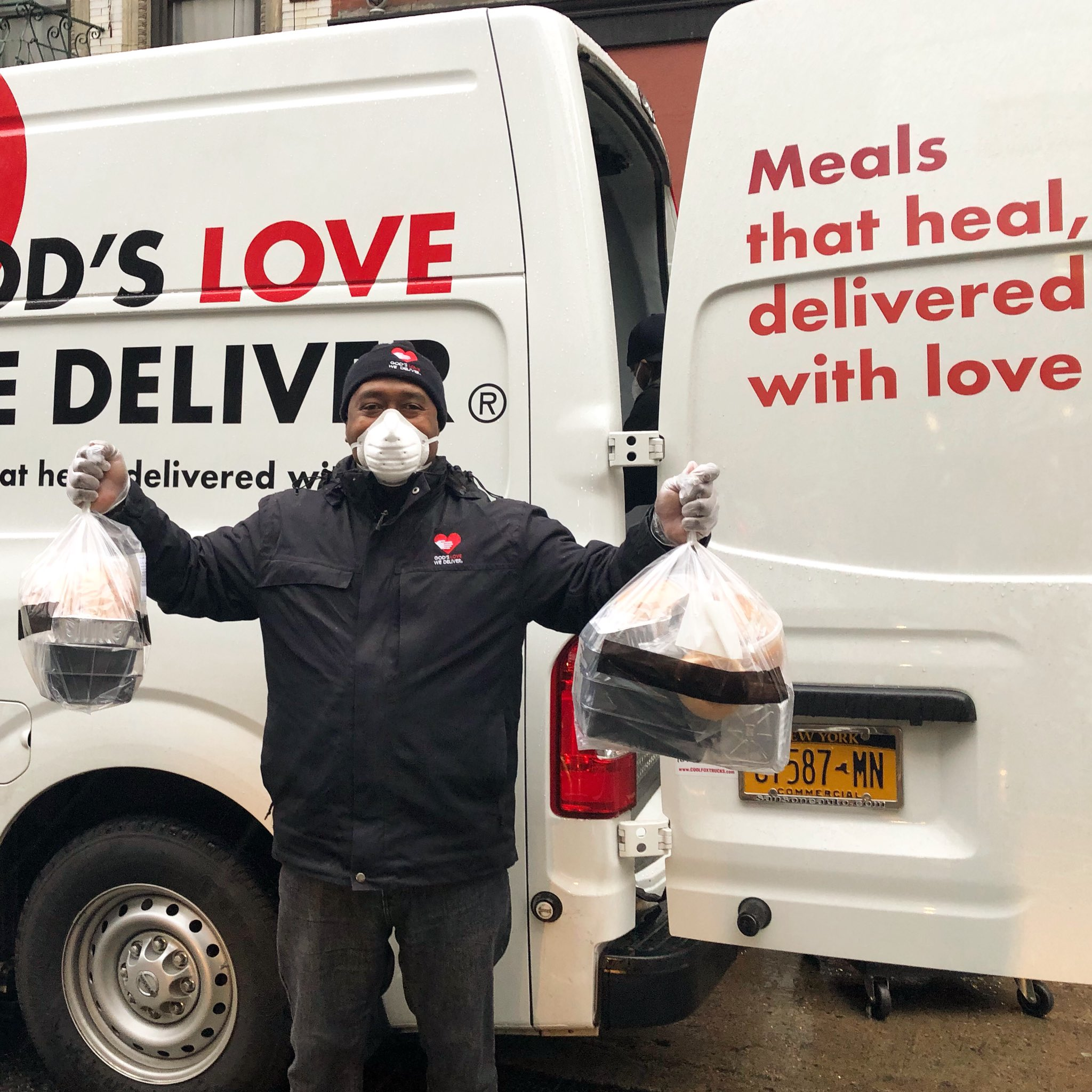 God's Love We Deliver Driver Fred