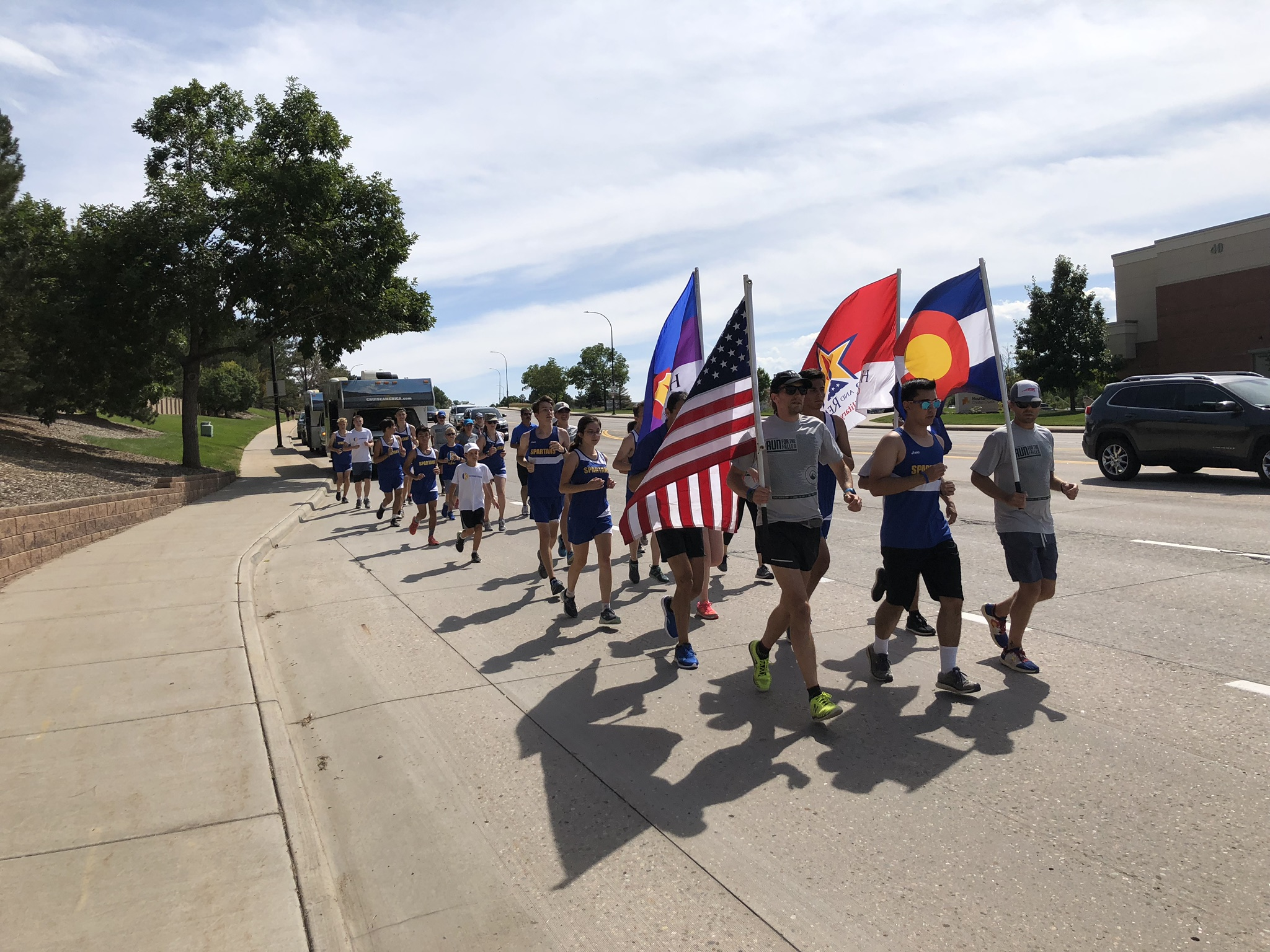 The Castillo Family, STEM School Cross Country, Veterans, and First Responders honored and remembered Kendrick Castillo on September 15, 2019 with The Colorado Run for the Fallen. Kendrick was the first civilian honored in this national memorial for fallen Service Members and First Responders. He remains in our hearts, forever. We will see him again.