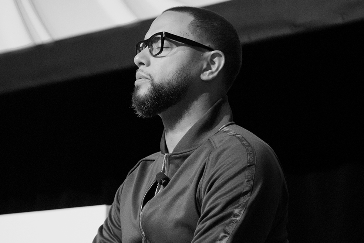 Julien Christian Lutz, professionally known as Director X for Operation Prefrontal Cortex, Design Exchange, Toronto, Ontario, Canada, 2019, Photographer: Ajani Charles