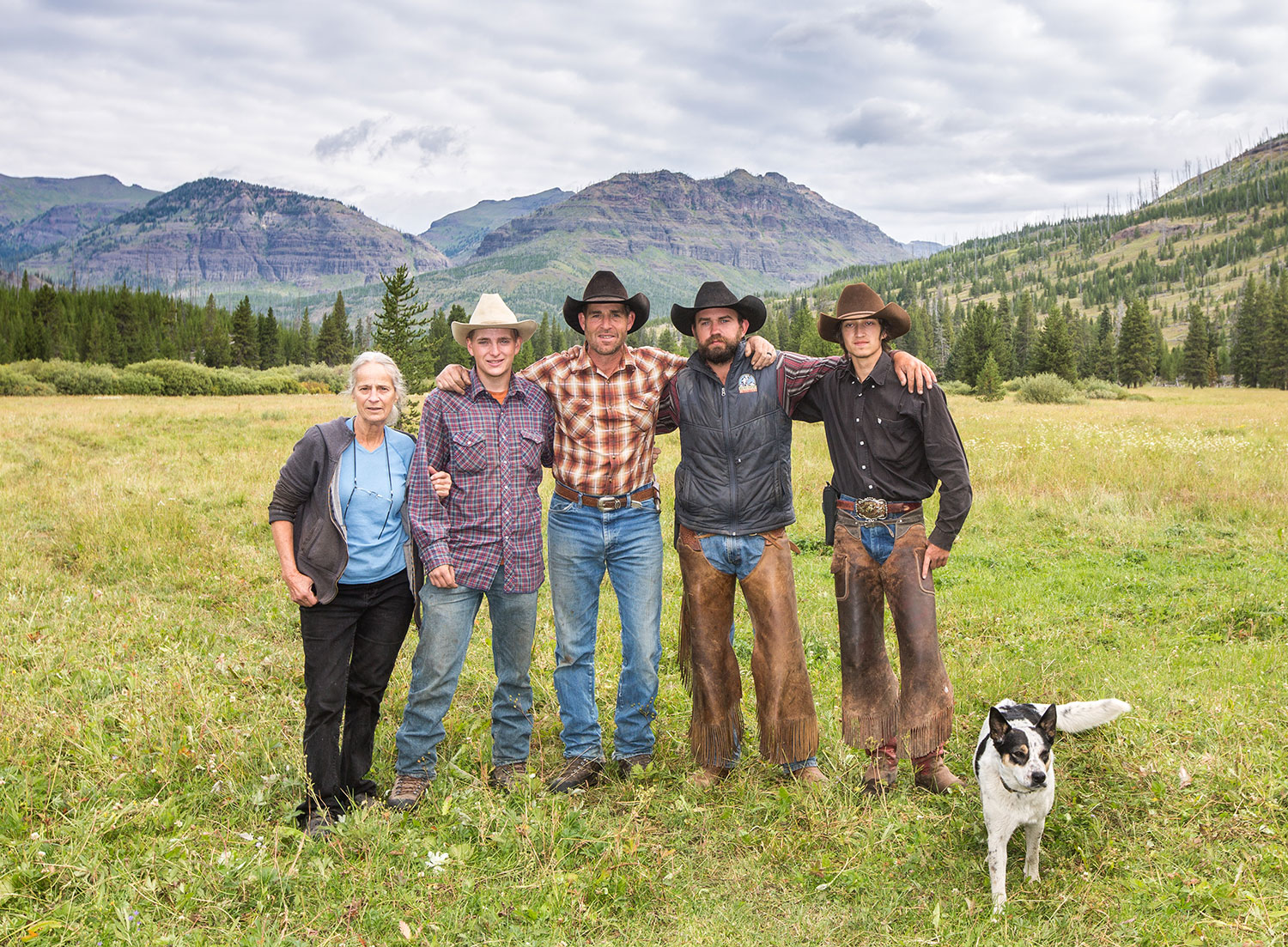 The guides of Absaroka Beartooth Outfitters