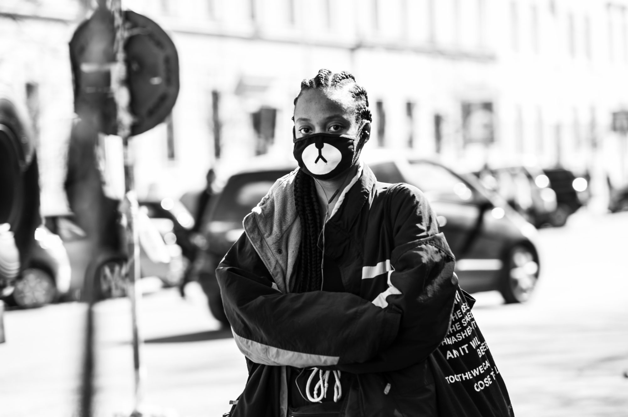 wearing masks in Rome