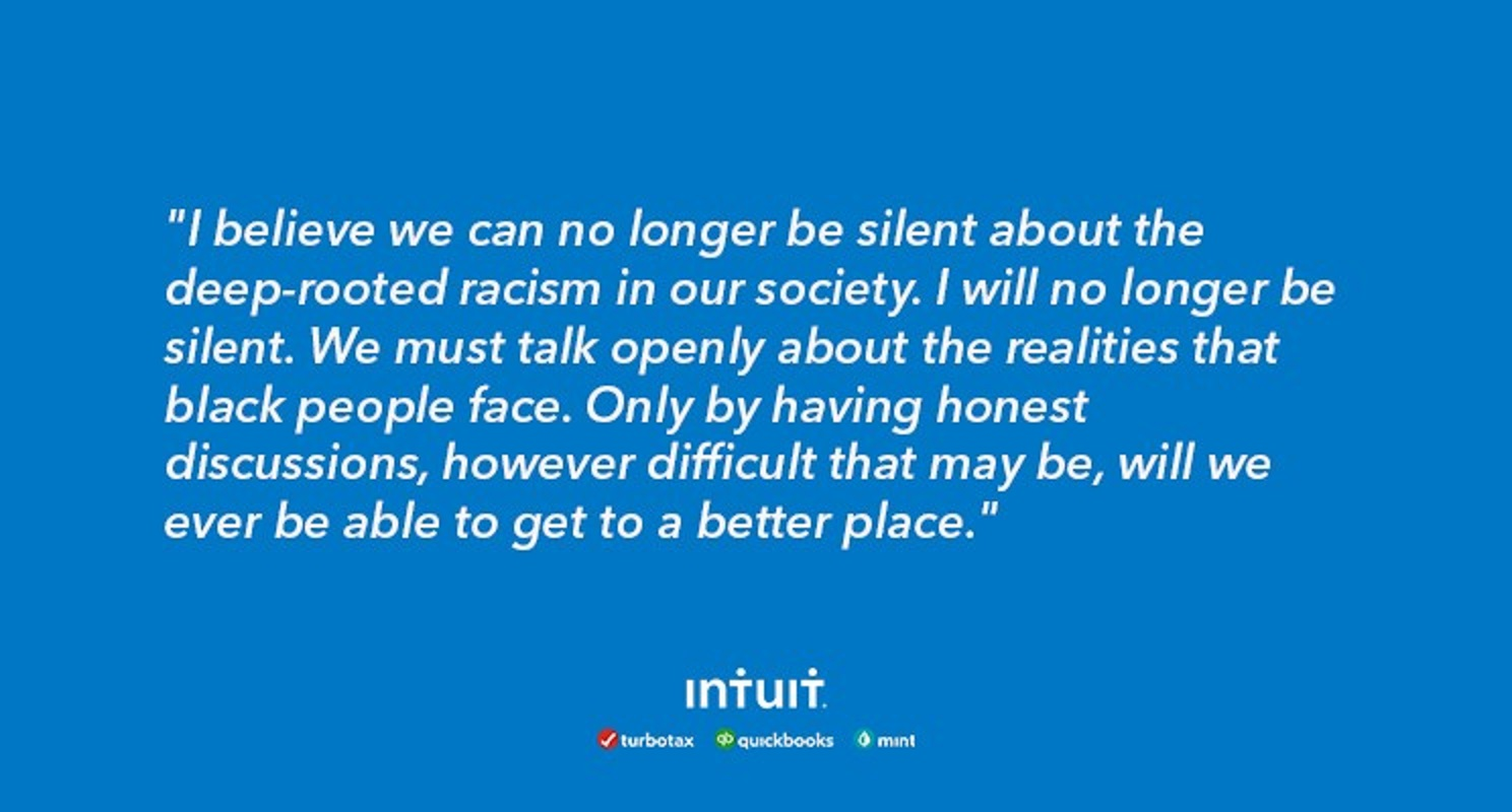 Sasan Goodarzi - CEO at Intuit from 'A time to stand together'​ post