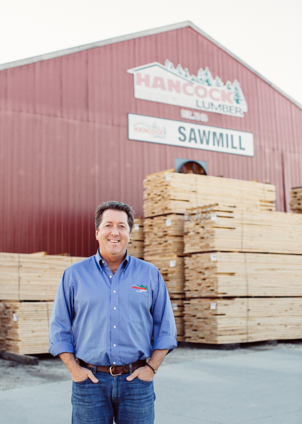 Kevin Hancock, CEO of Hancock Lumber. Photo credit: Jessica Weiser