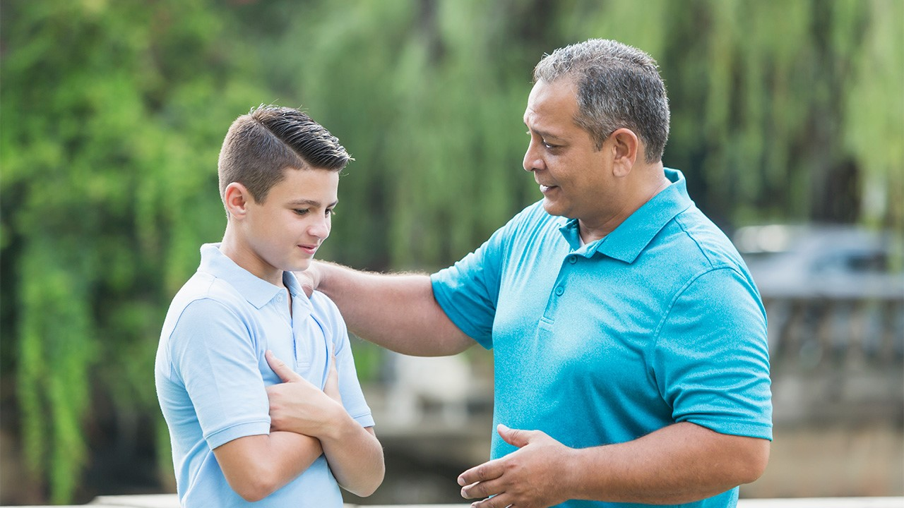 Managing the family transition with teenagers.