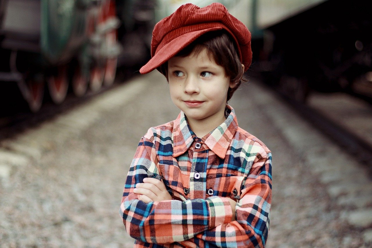 boy red hat say no mindfully