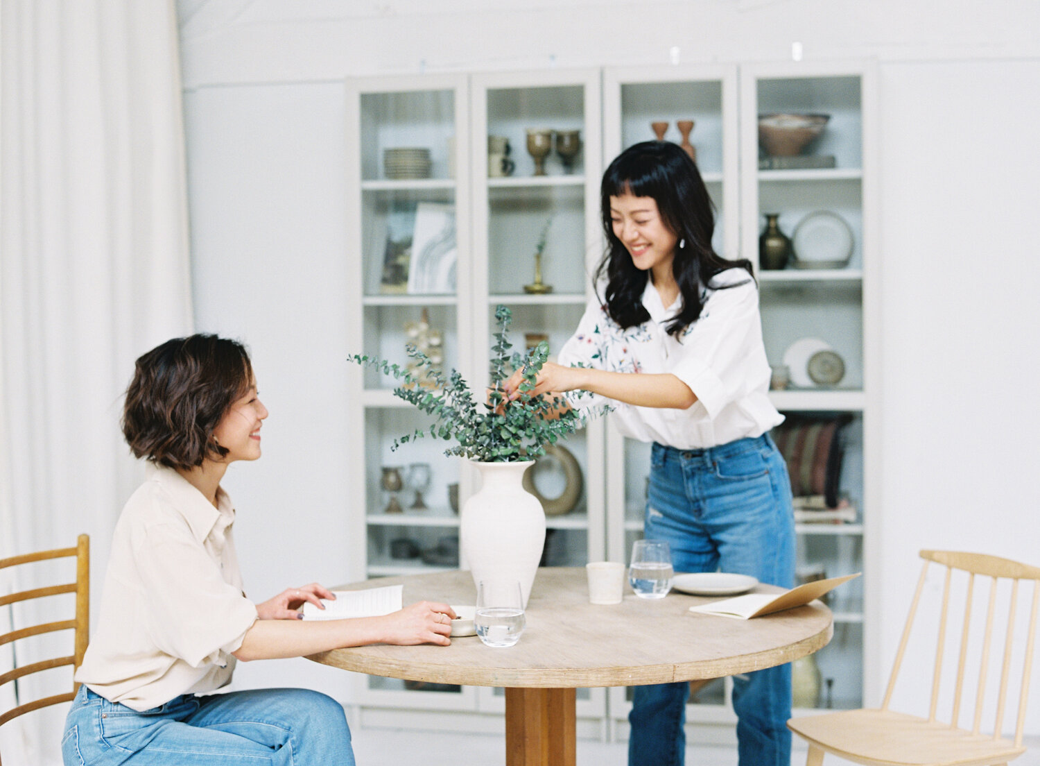 Sister Duo Annie and Terrie Chang run their company from other sides of the globe