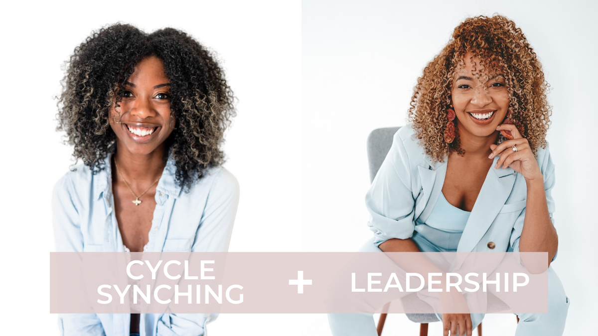 Photo of Period Expert Berrion Berry and Leadership Coach Tianna Tye