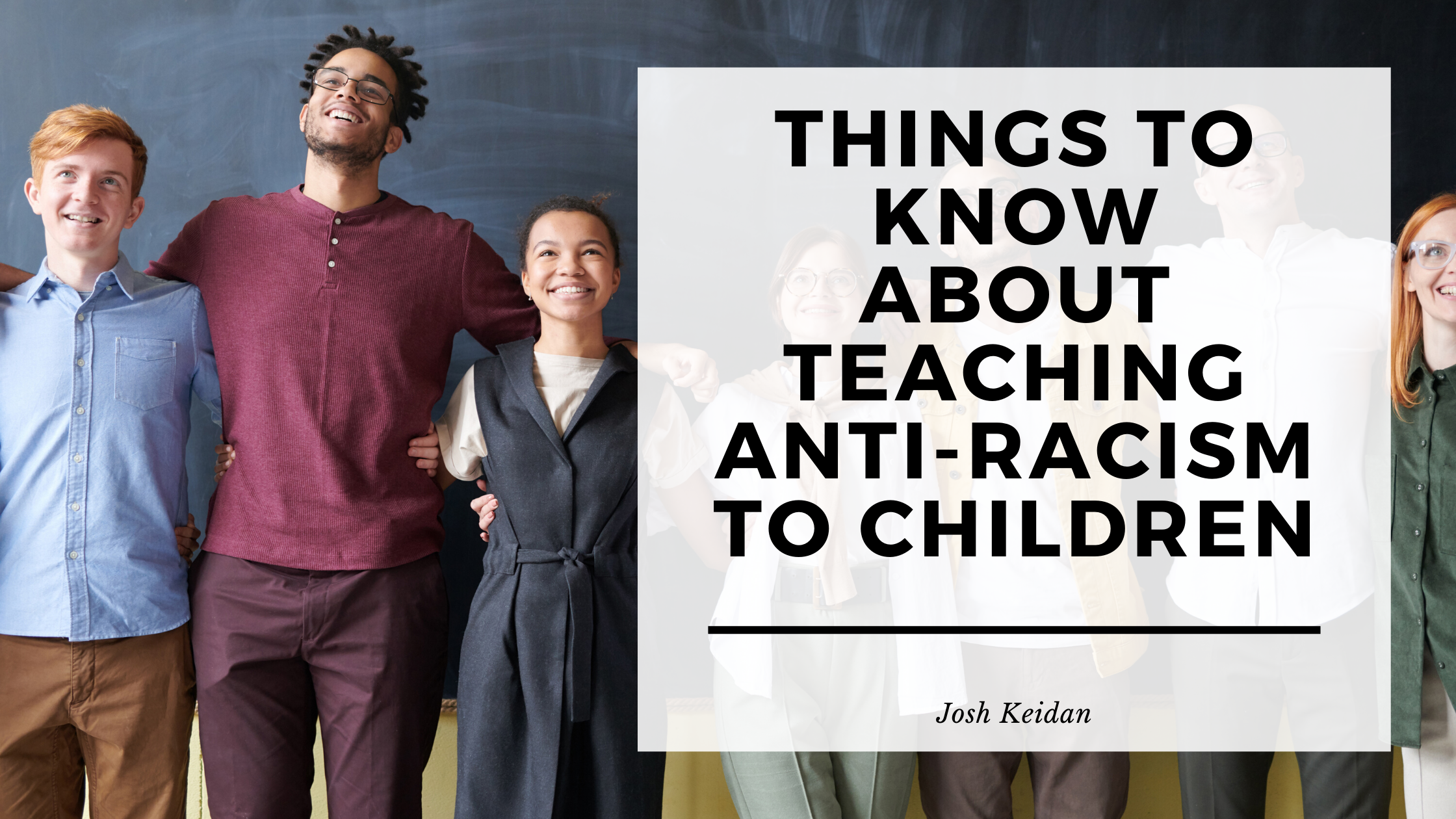 Things To Know About Teaching Anti Racism To Children