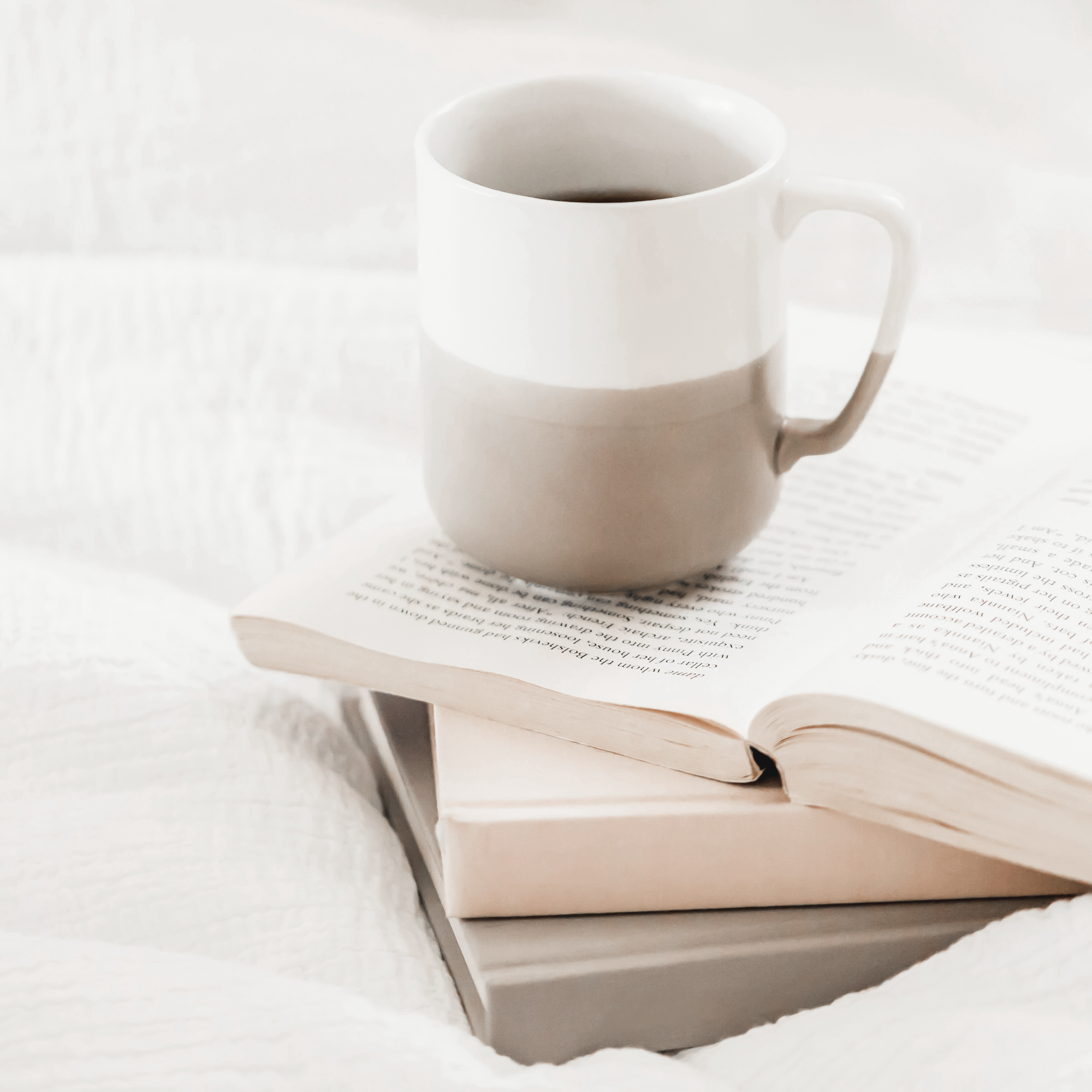 books-coffee