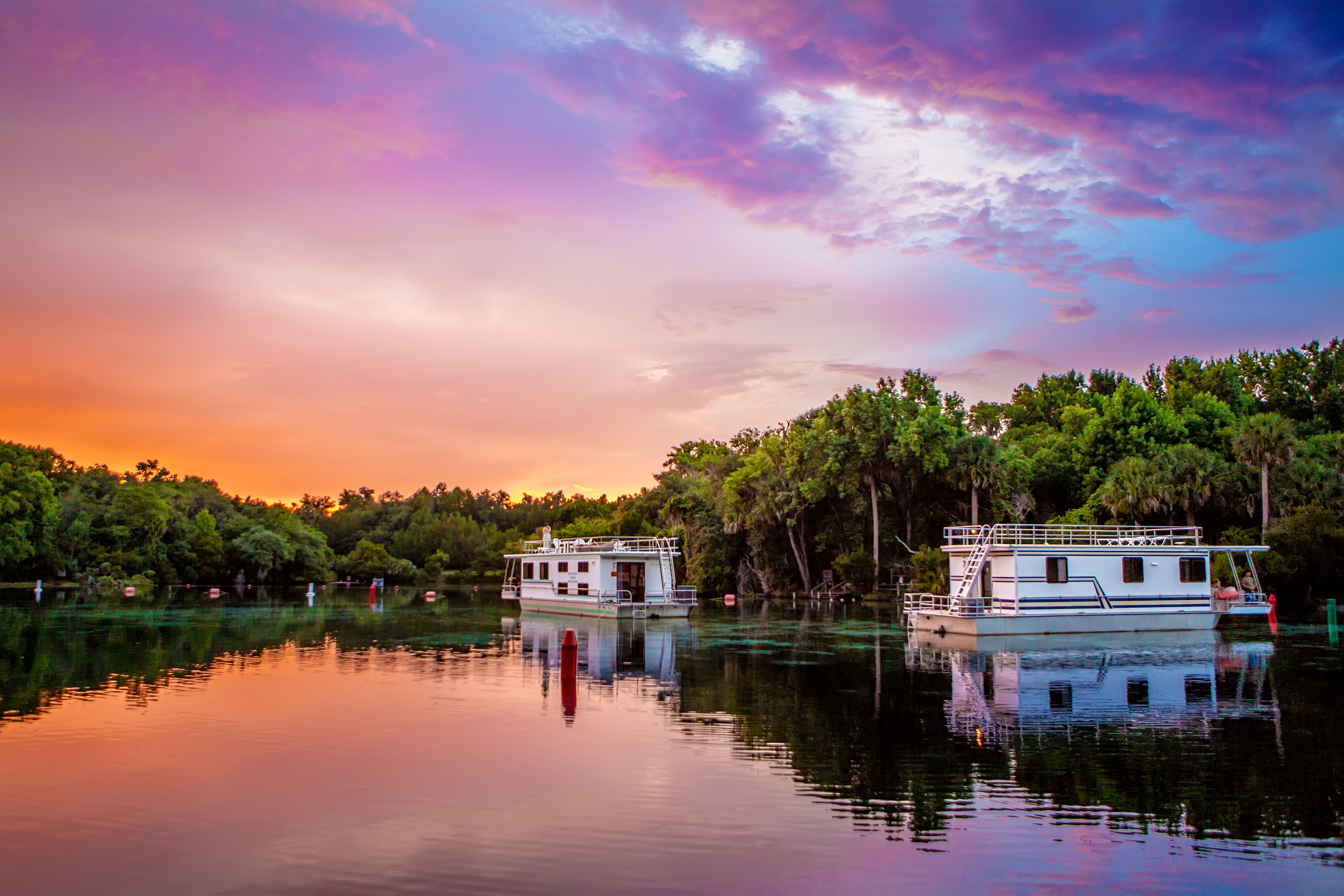 Houseboating on the St. Johns River