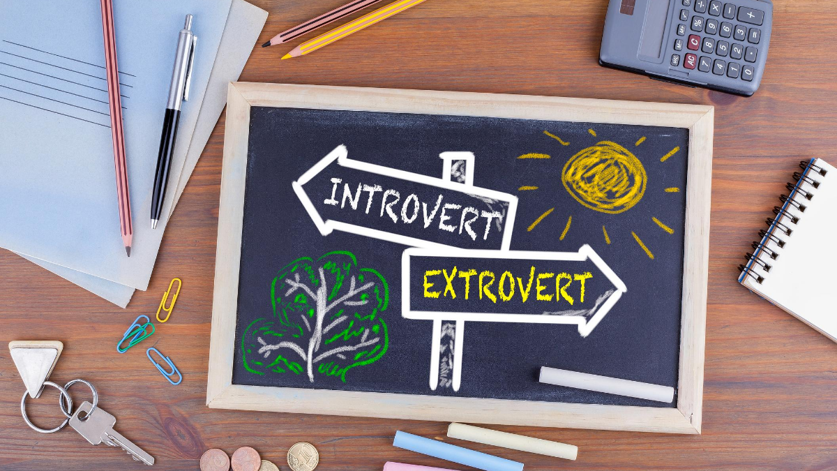 Introvert or Extrovert Sign