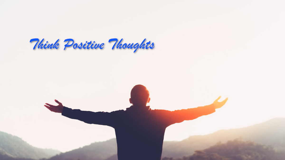 There's a problem with positive thinking...