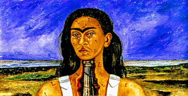 Painting Pain For the Wellness Of Mind! Frida Kahlo