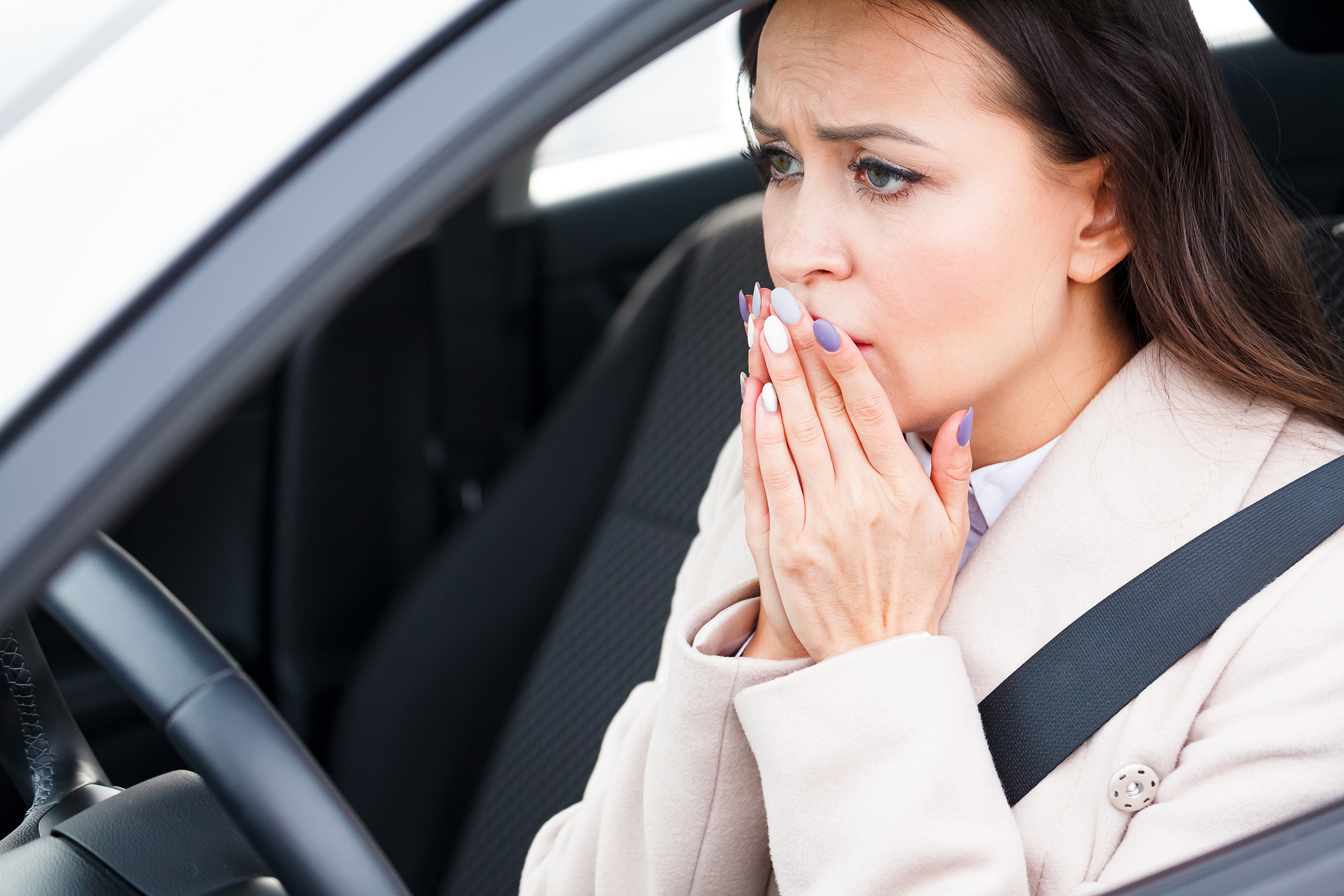 fear of driving is common