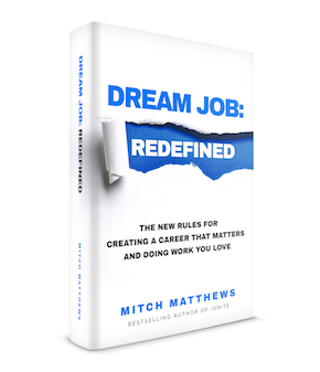 """Picture of the book """"Dream Job Redefined"""""""