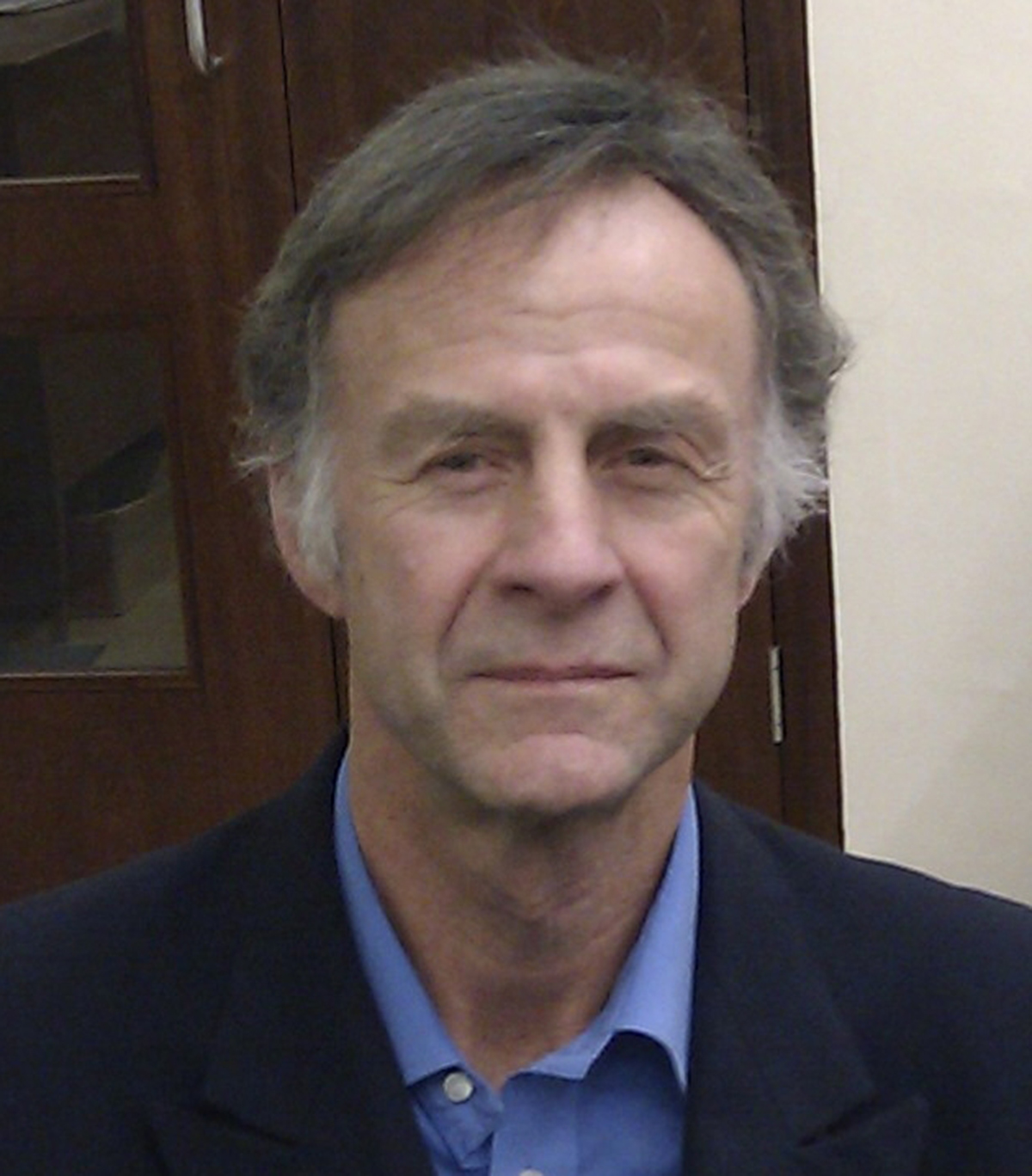 Ranulph Fiennes at Cambridge University in 2011. Photo by B. Milnes, Wikimedia Commons