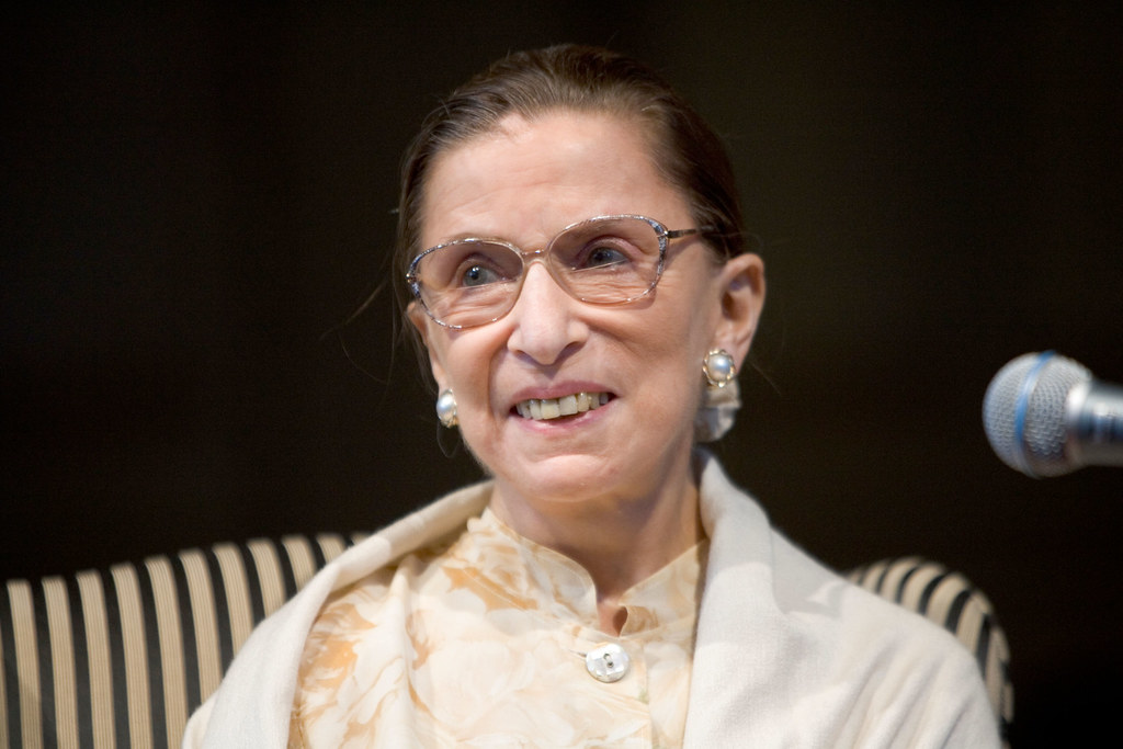 """""""Associate Supreme Court Justice Ruth Bader Ginsburg Visits WFU"""" by WFULawSchool is licensed under CC BY-NC-ND 2.0"""