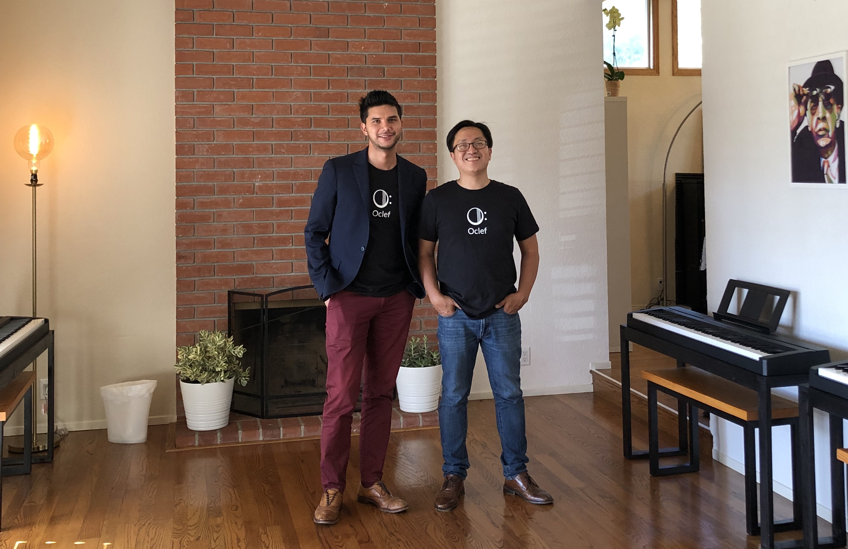 Co-Founders Julian Toha and Phong Le of Oclef