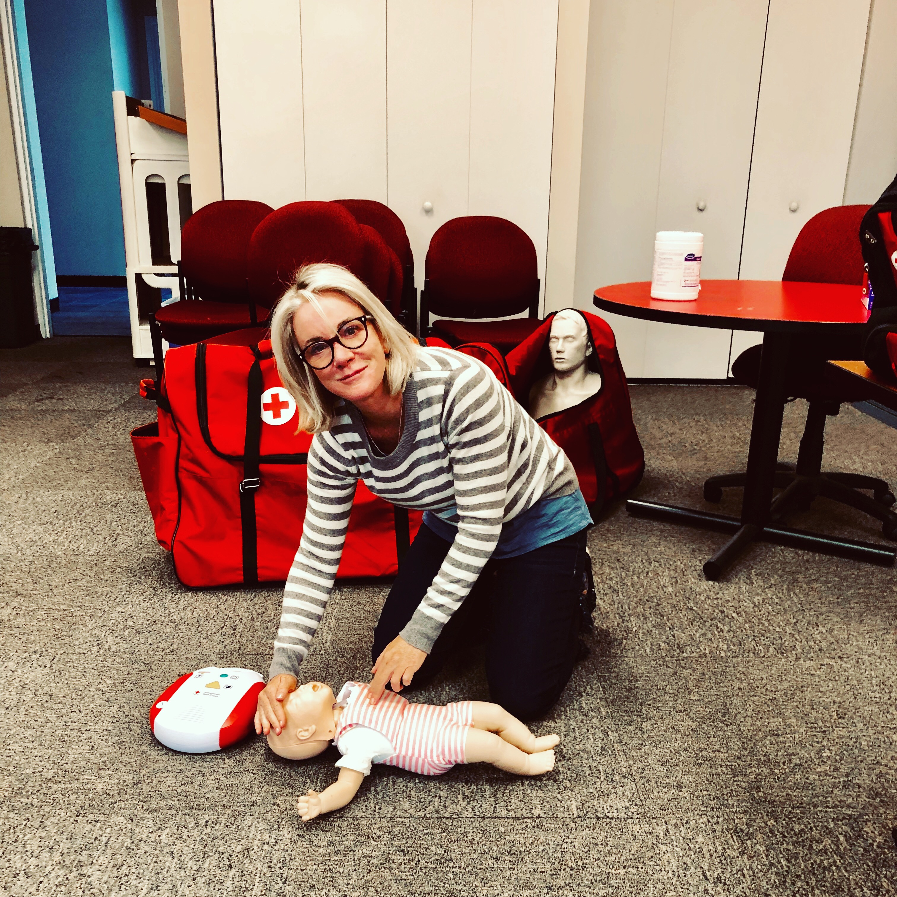 Anyone can take CPR. Why not register today?