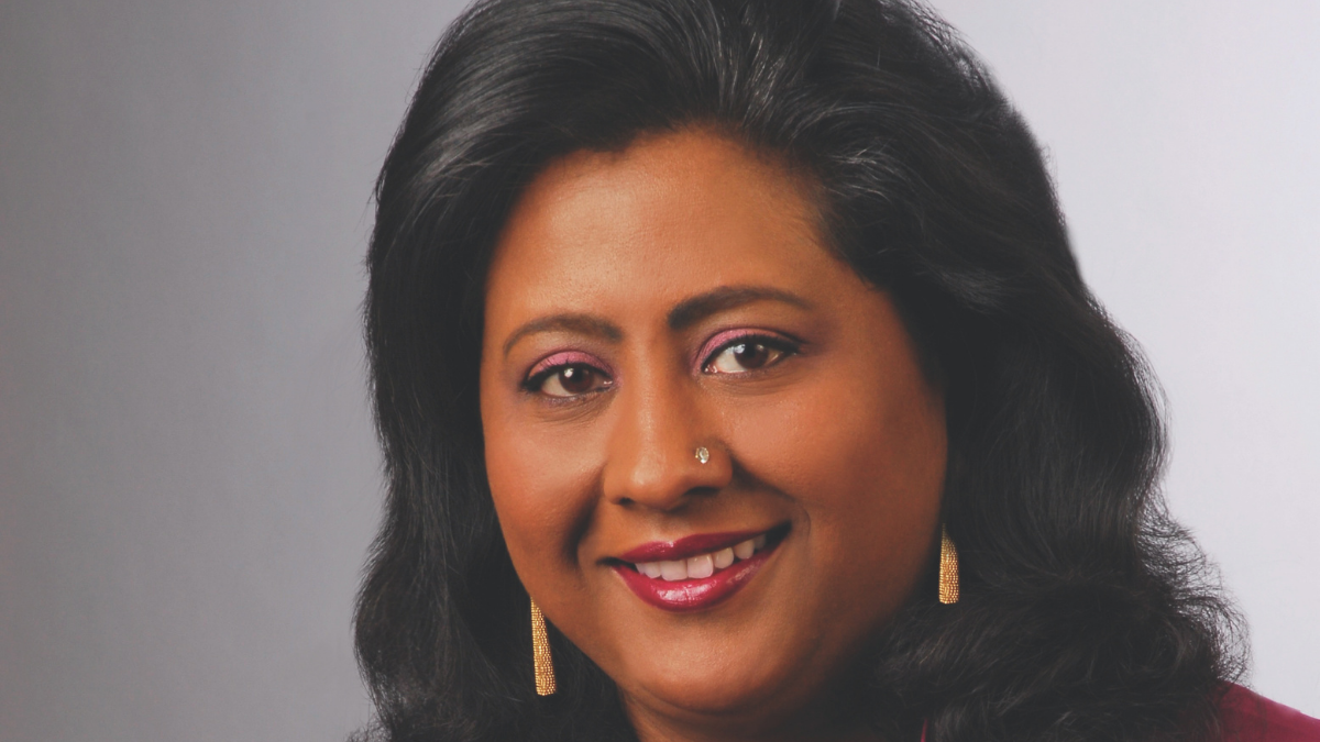 Kasthuri Henry, PhD, CTP Six Signma Black Belt and author of Ennobled for Success