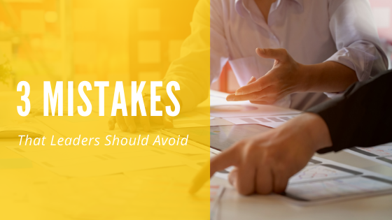Olawale Seriki | 3 Mistakes Leaders Should Avoid