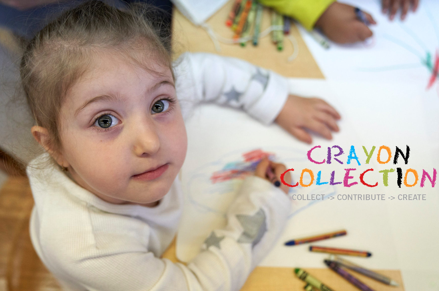 Redirecting like-new restaurant crayons to vulnerable classrooms to bring back art education.