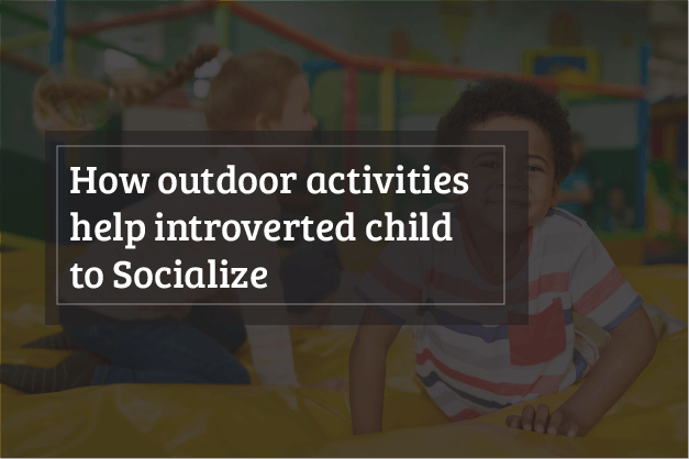 bouncy castle for introverted Kids