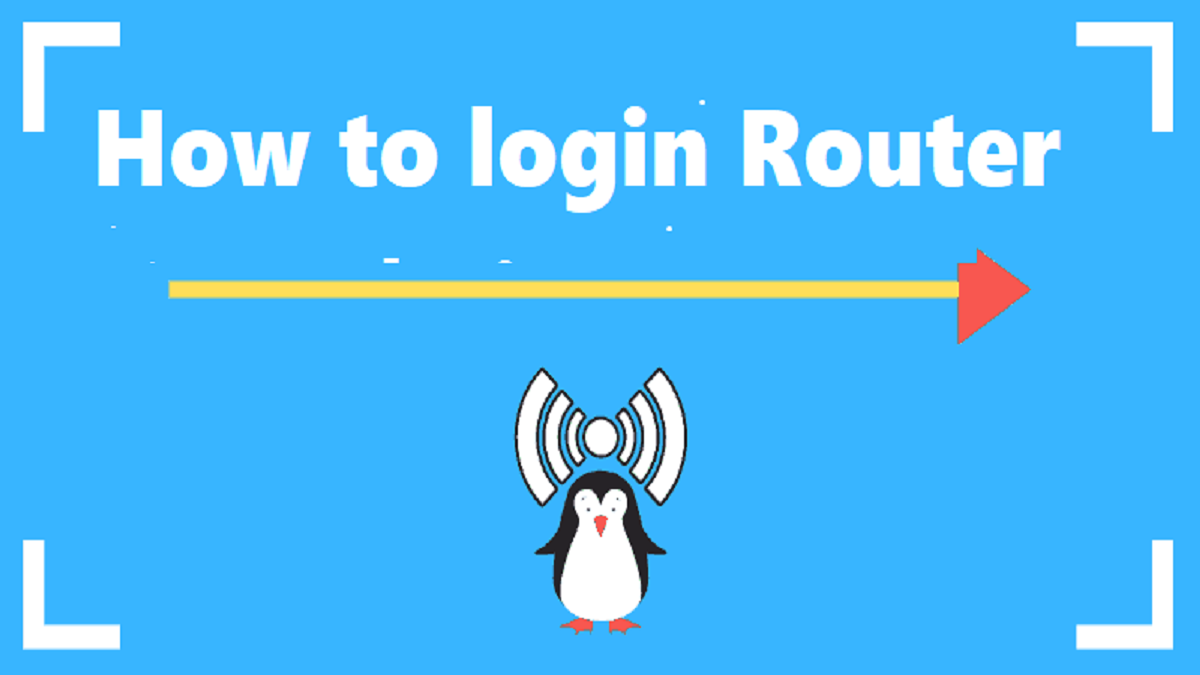 How to login Router