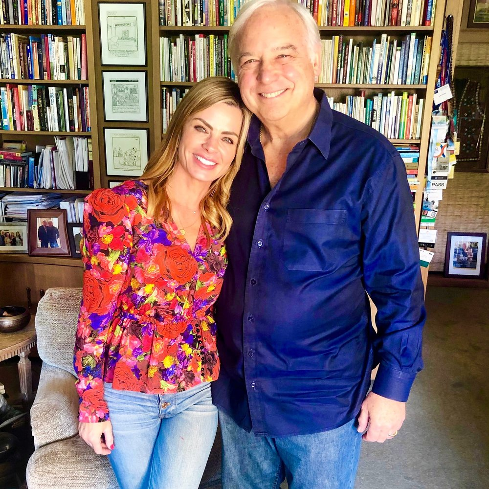Jack Canfield and Michelle Sorro