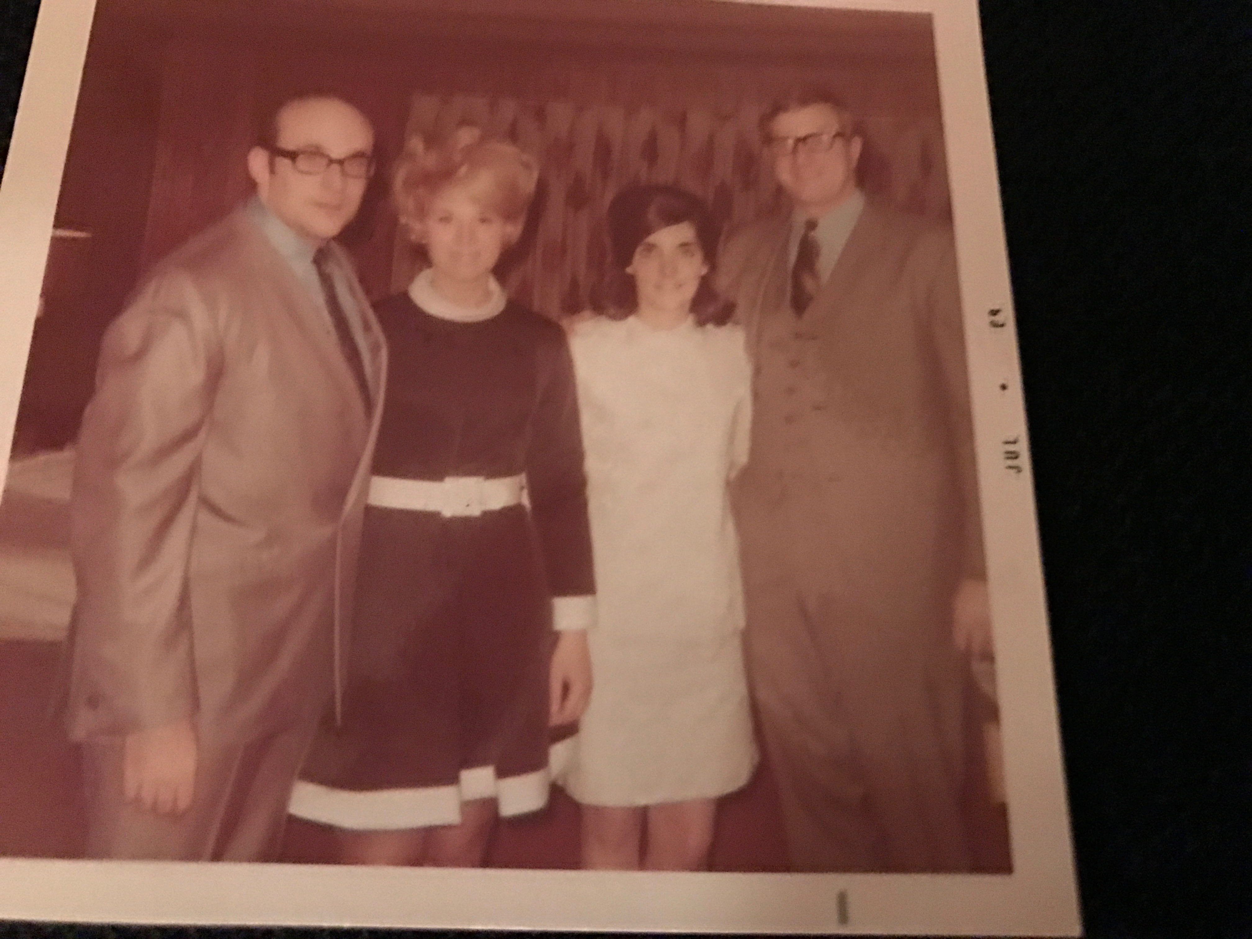My Parents Making Memories with the Friedmans in 1968.