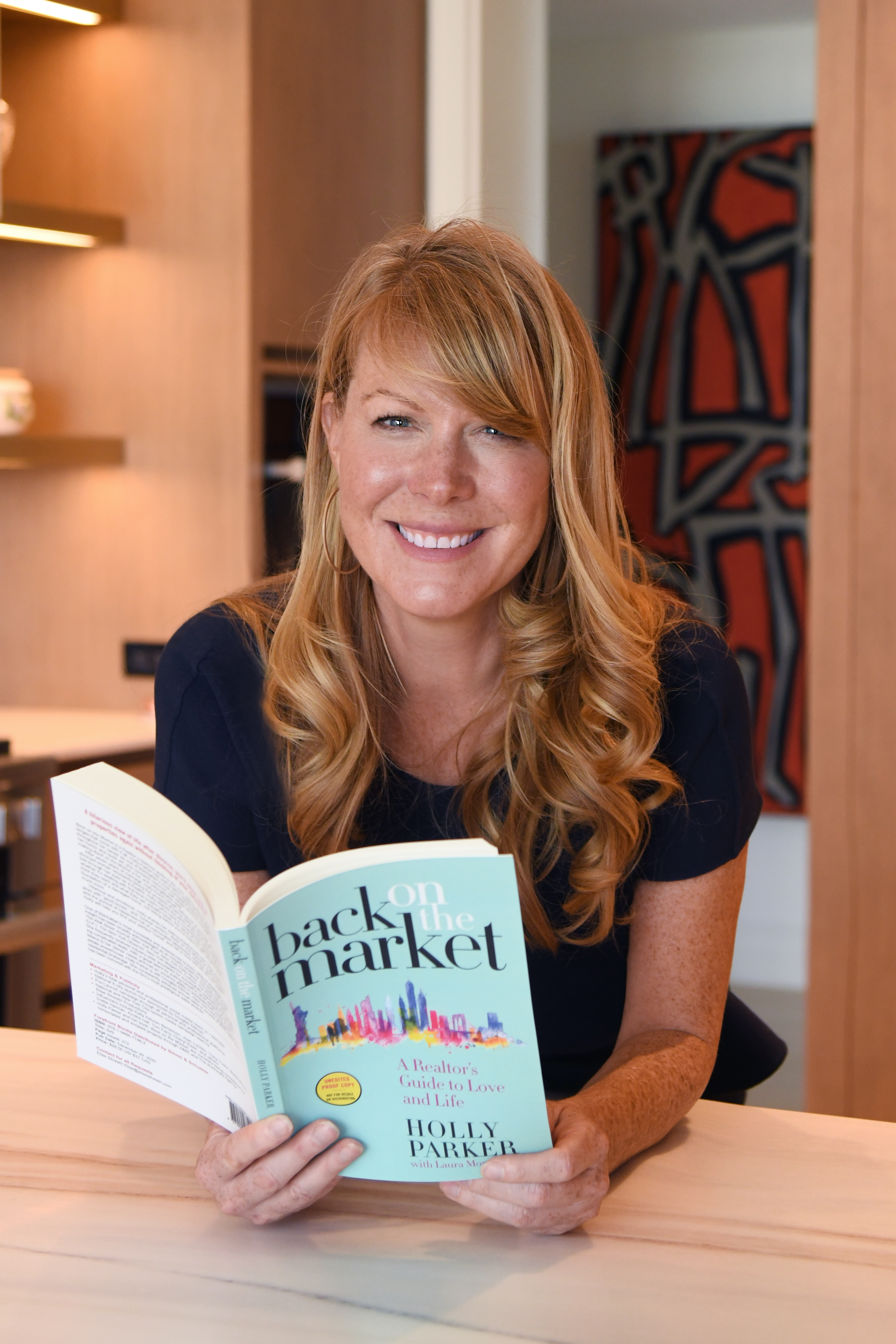 """Holly Parker, Author of """"Back on the Market: A Realtor's Guide to Love and Life"""""""