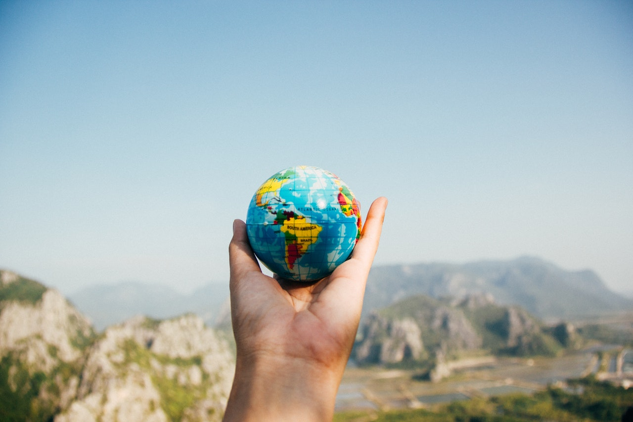 travel the world building a business