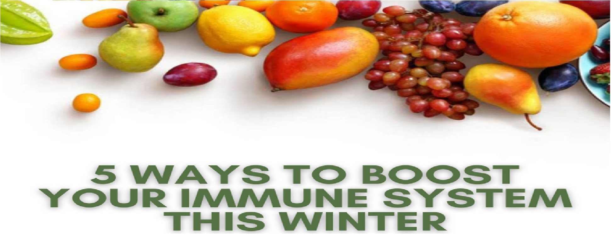 5 Winter Foods to Boost Immunity
