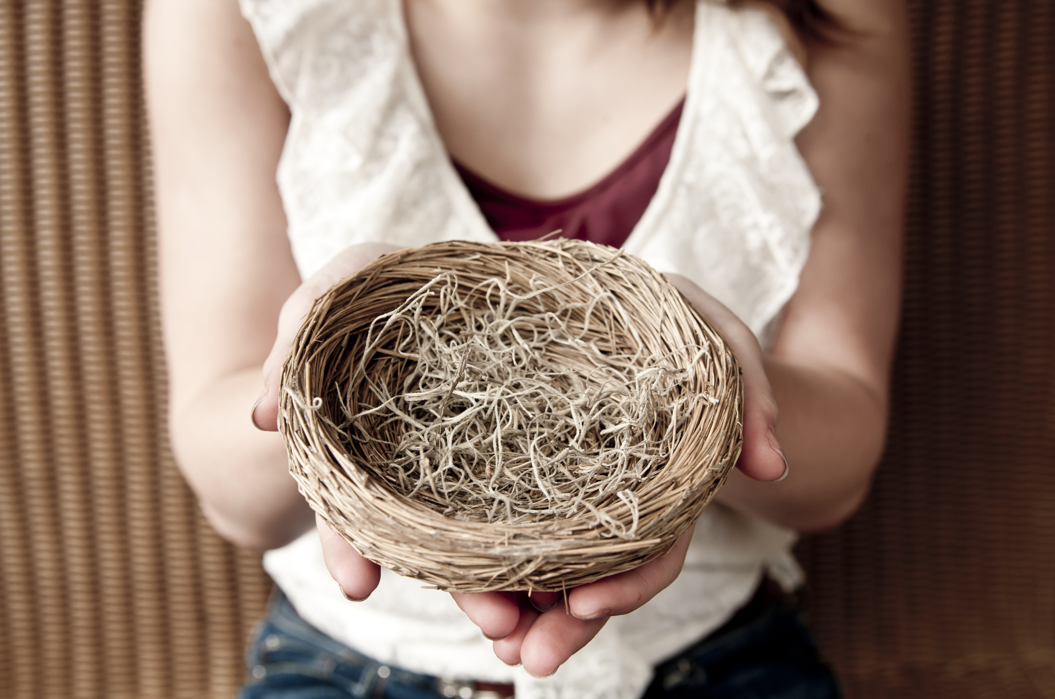 "Photo <a href=""https://www.dreamstime.com/royalty-free-stock-photography-empty-nest-image24628867"">24628867</a> © <a href=""https://www.dreamstime.com/annalisaball_info"">Annalisaball</a> - <a href=""https://www.dreamstime.com/"">Dreamstime.com</a>"