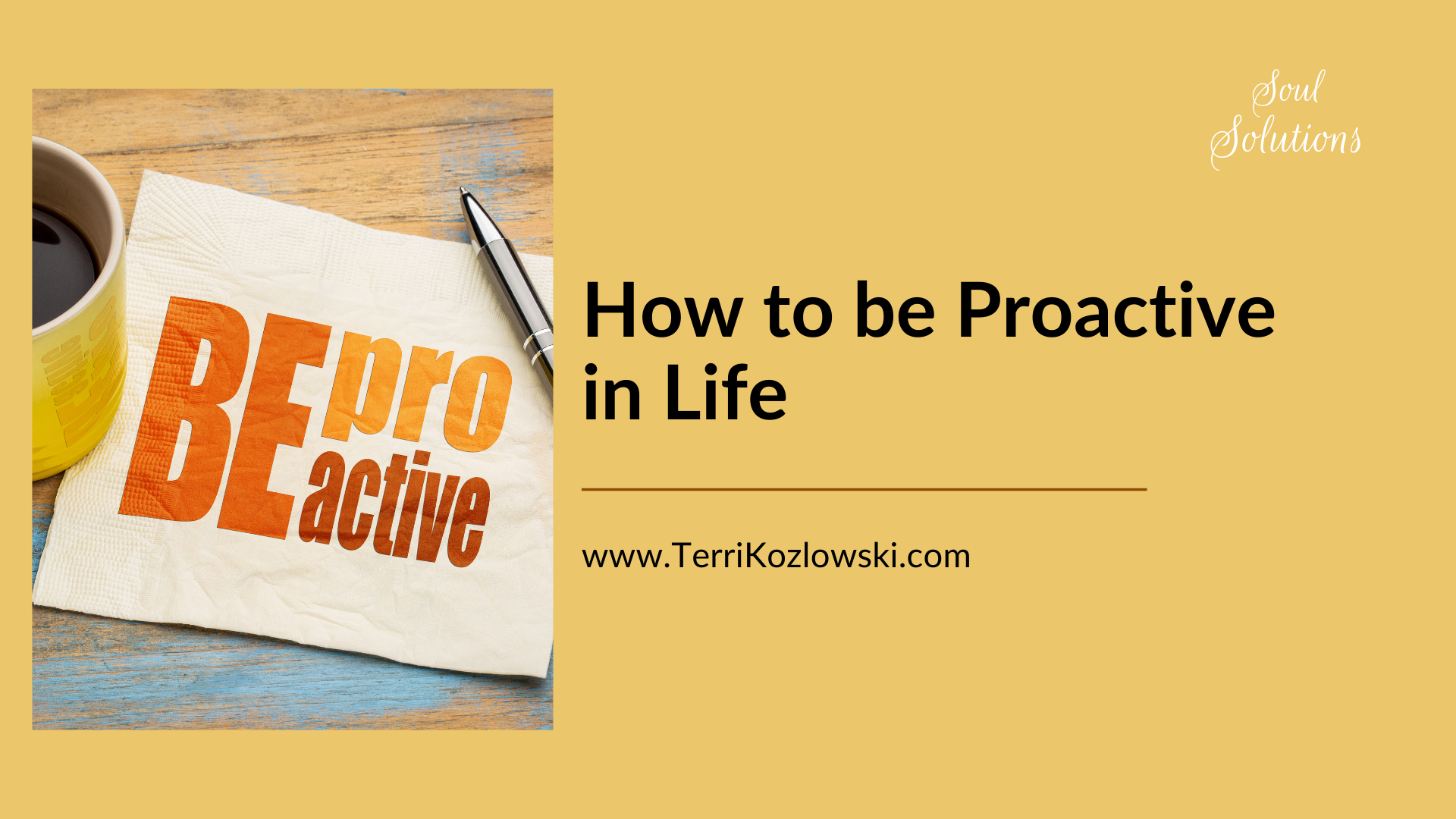 Proactive means responding well