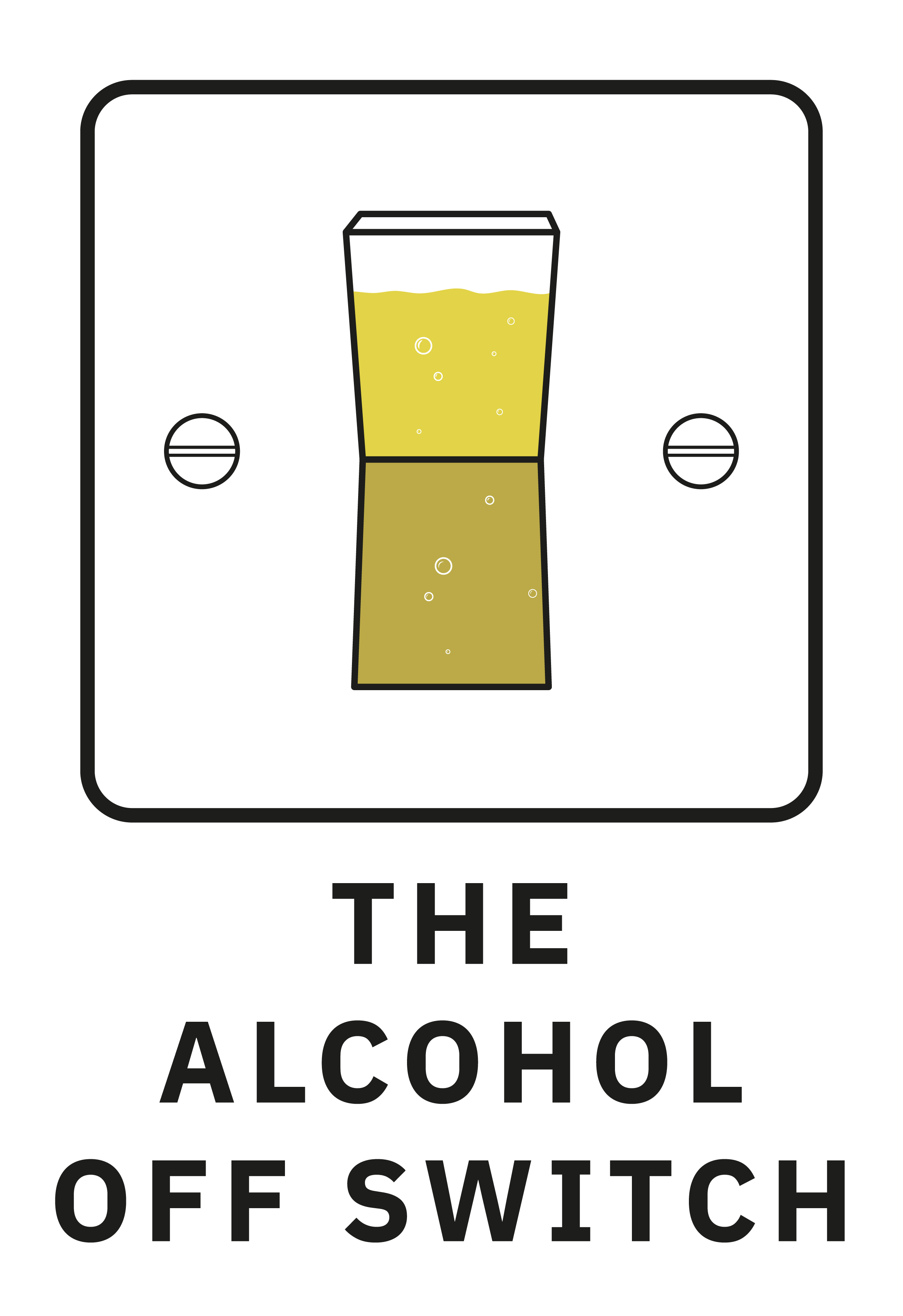The alcohol off switch logo