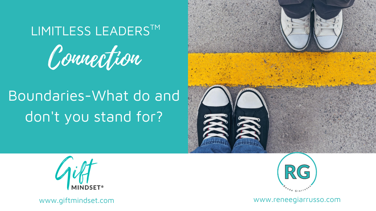 Limitless Leaders™ Connection – Boundaries-What do and don't you stand for?