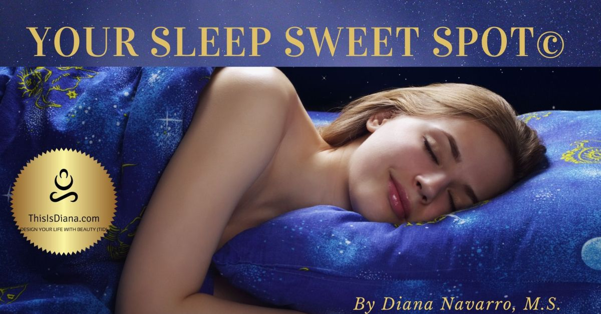 Allow Me Introduce You To Your Sleep Sweet Spot