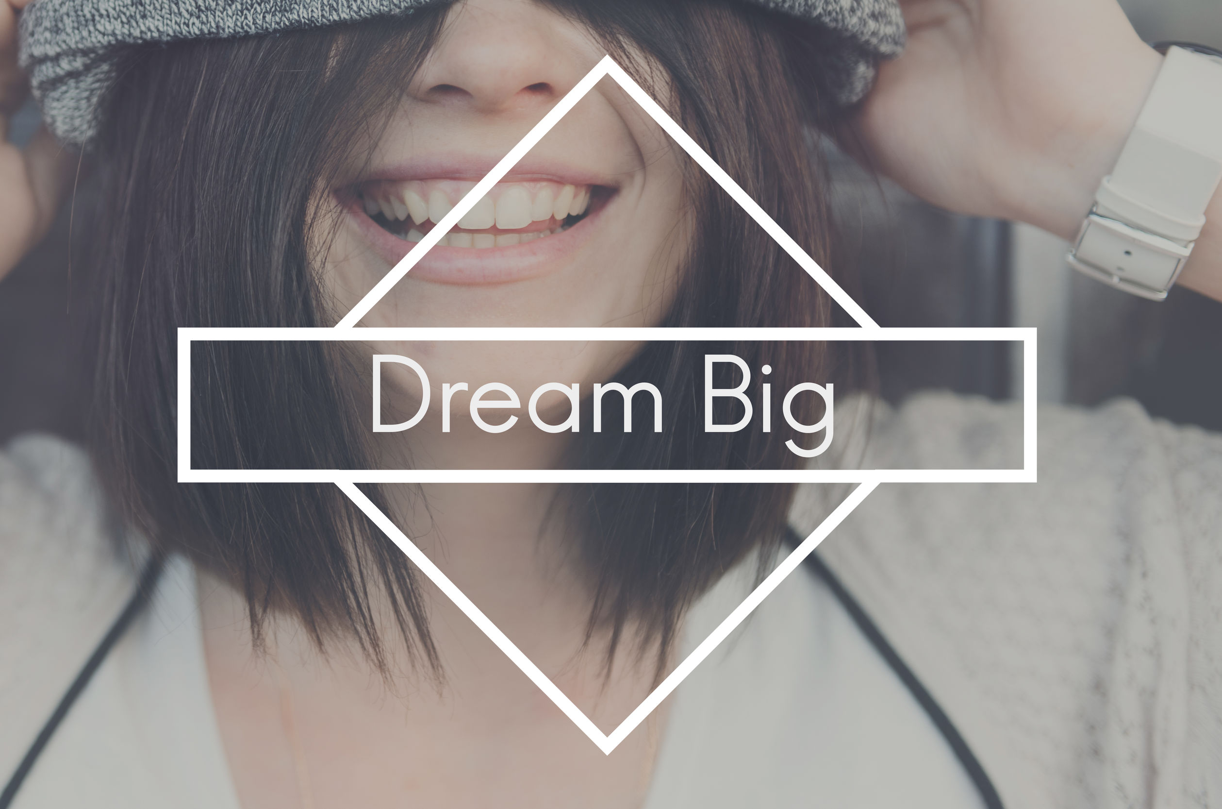 Dream Big Goal Hopeful Believe Target Vision Concept