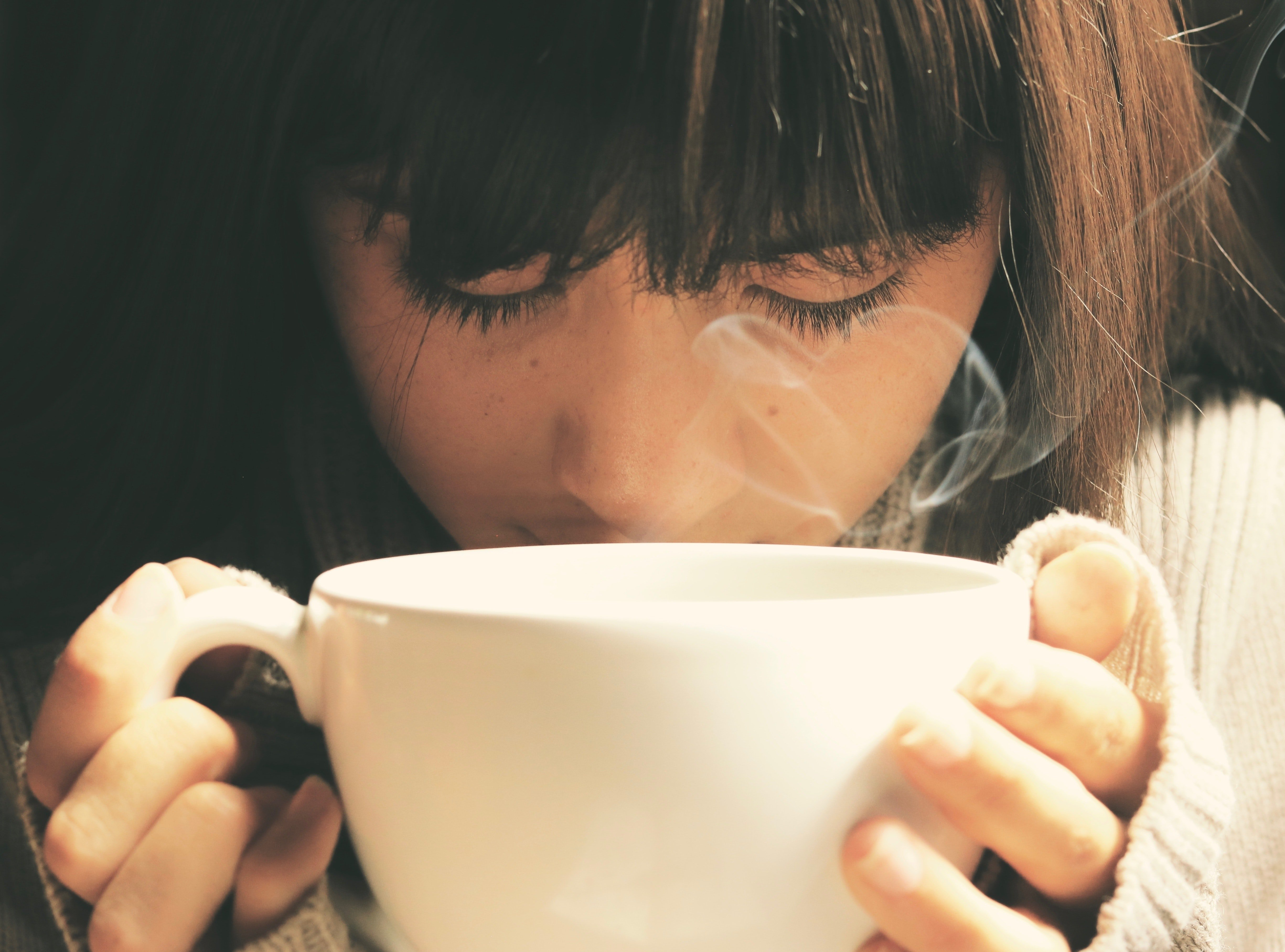 A moment of mindfulness through practicing coffee meditation