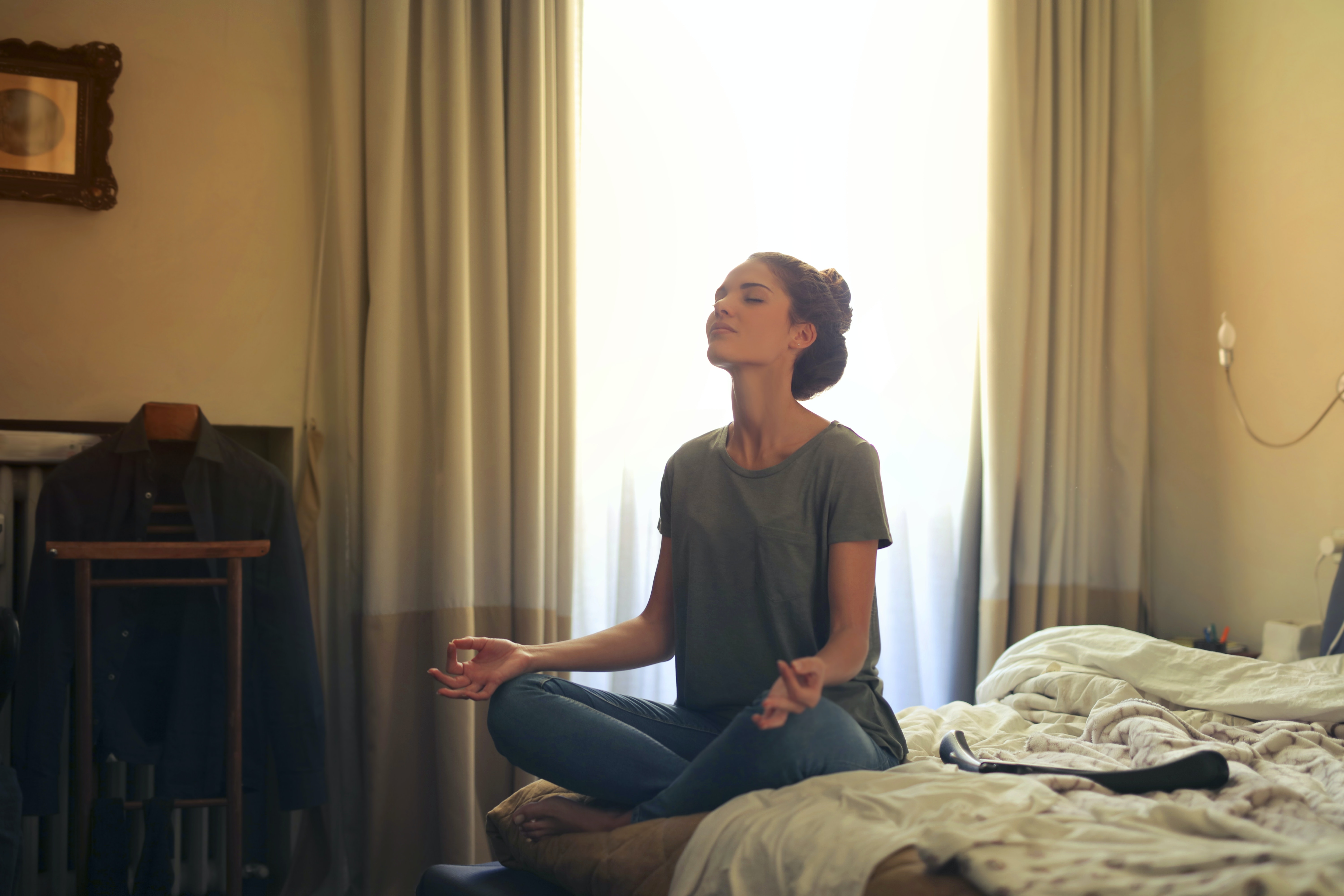 Meditation is a tool which can help both your emotional well-being and your overall health.