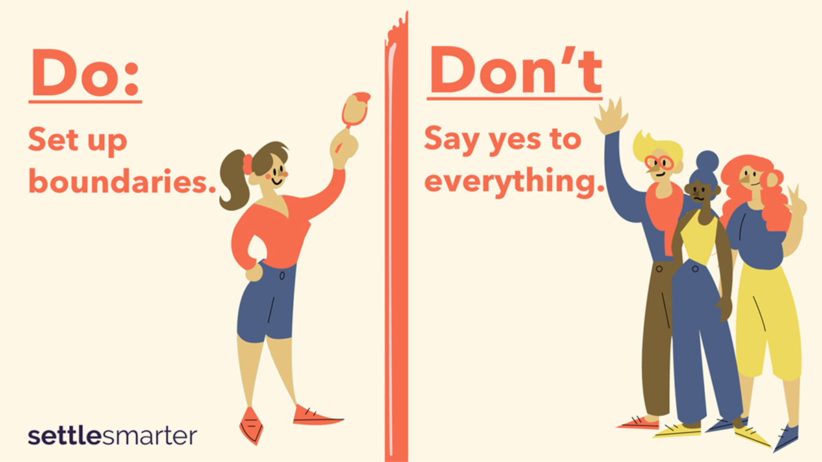Do: Set Up Boundaries | Don't Say Yes to Everything