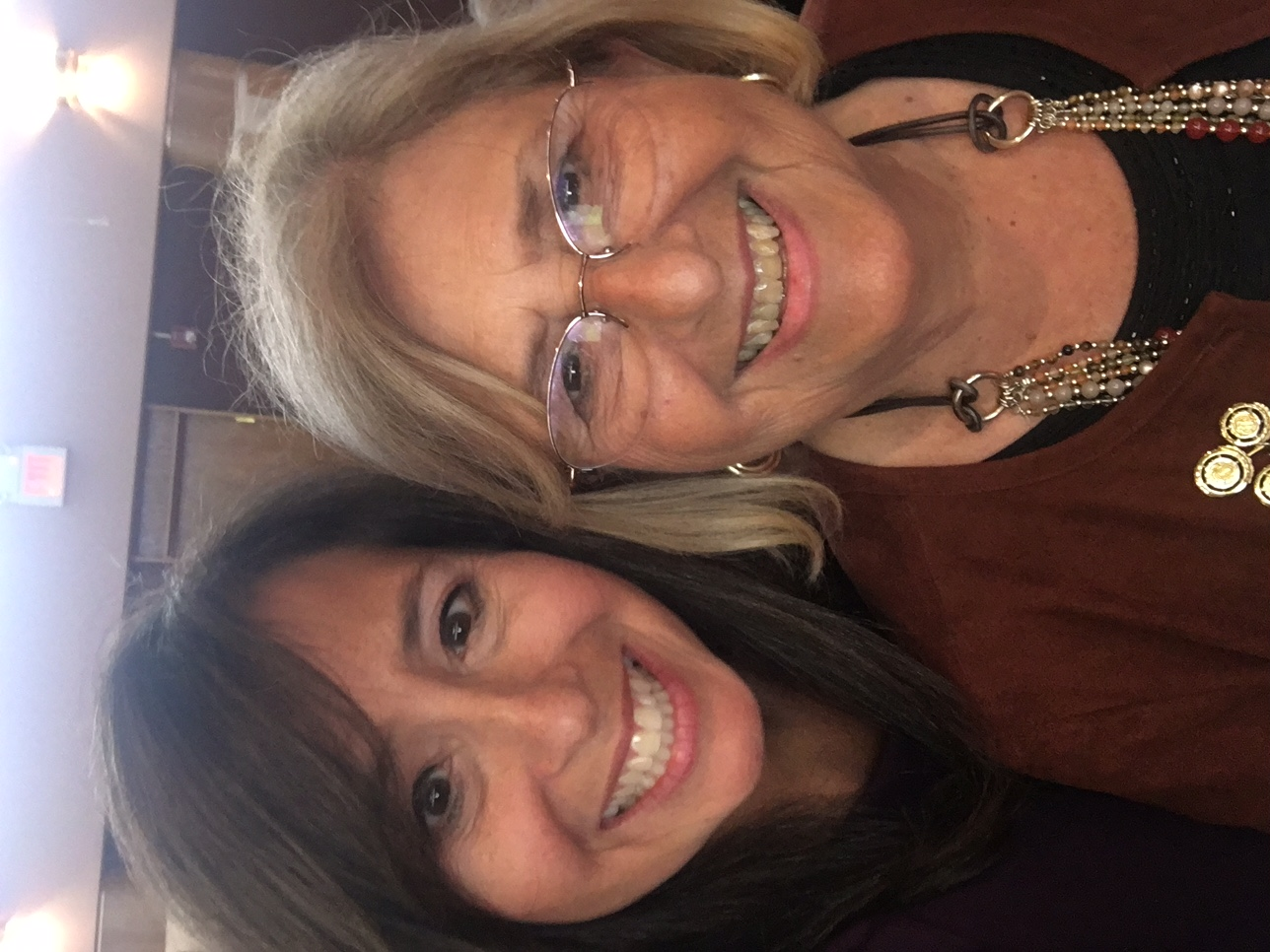Stephanie Z. Bonder and her mother, Joan Zimmer