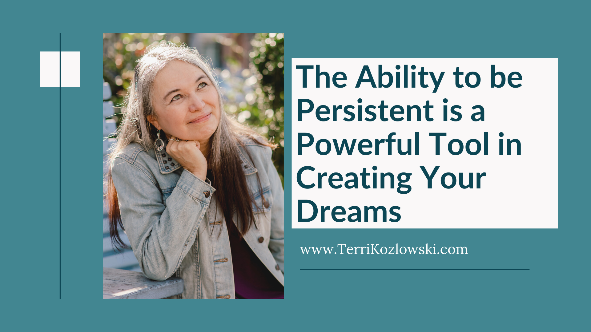 Ask Terri About Persistence