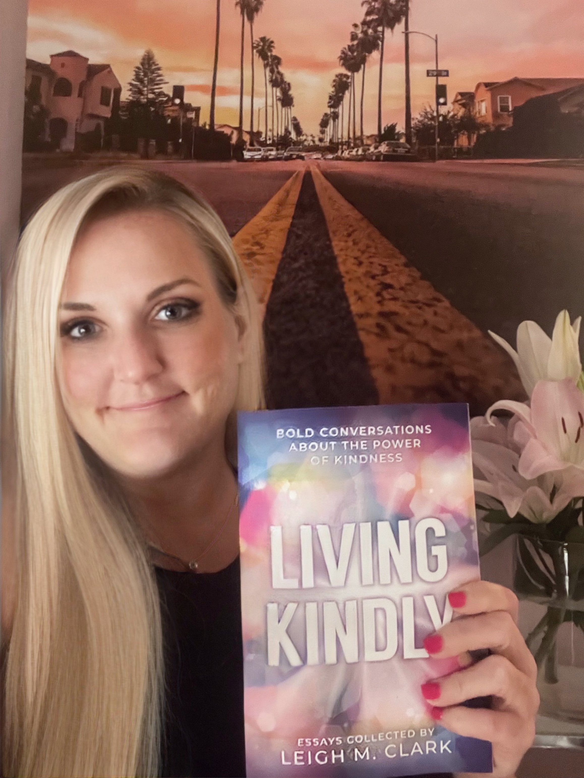 My first book! Living Kindly