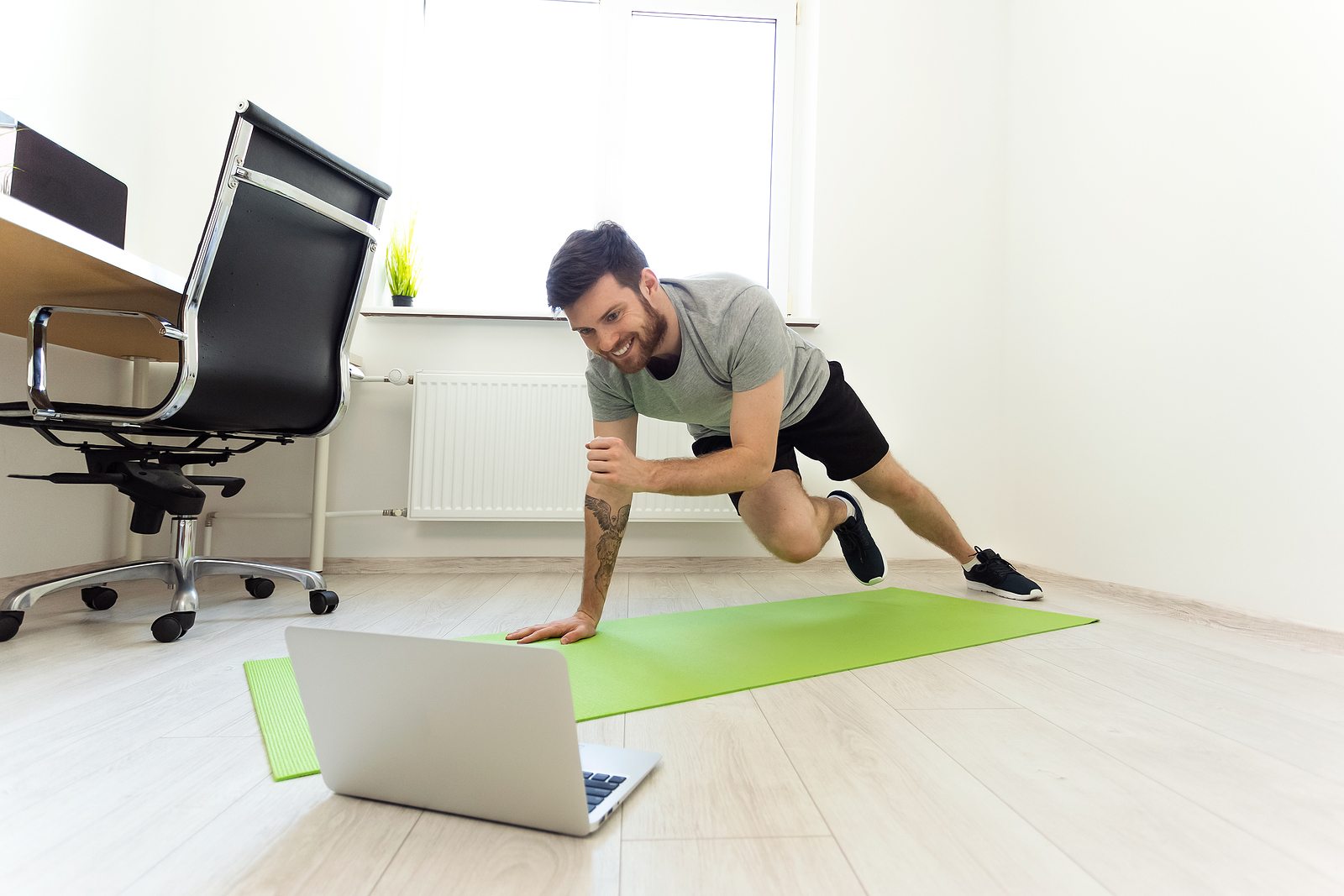 Doing Exercises At Home