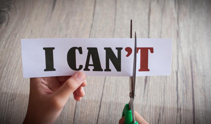 Shifting Your MINDSET from CANT to CAN